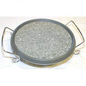 Marmor stekeplate, spesielt egnet til minikjøkken og andre gass kokeapparater.