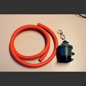 Gassregulator m:1,5m slange 11 mm