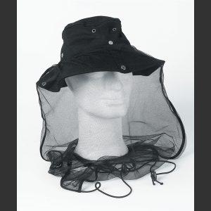 Mygghatt holder myggen vekk fra hode og hals. Mygg hatt er effektiv mot mygg.