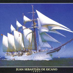 Puslespill Seilskip Juan Sebastian fra Educa puzzle
