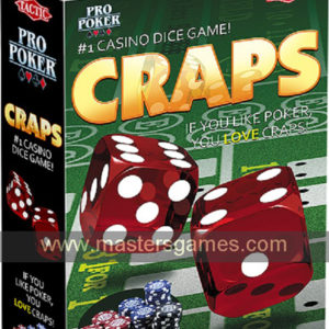 Craps casino dice game