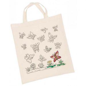 Bomullsnett sommerfugler fra Goki