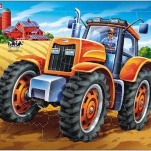 Puslespill Larsen puslespillfabrikk Spill av Traktor fra Larsen puslespillfabrikk