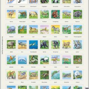 Zoo 3 Puslespill med bilder av dyr, fra Larsen puslespillfabrikk