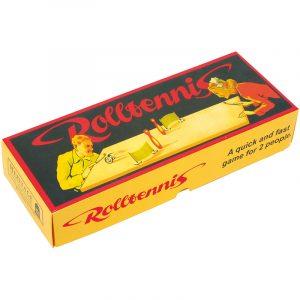 Nostalgisk spill. Rulletennis. Et bordspill basert på et tysk spill fra 30 årene.