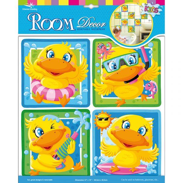 Deco sticker And. Flott til dekorasjon barnerom eller bad.