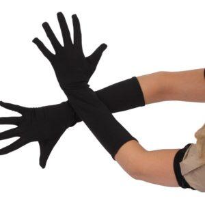 Langermet hanske. Karneval utstyr barn. Hanske med lang arm.