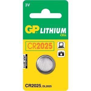 Batteri Knappcell CR 2025