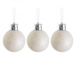 LED Julekuler med fjernkontroll, 3 stk.