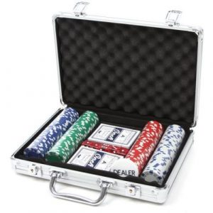 Deluxe Poker Set 200 Pokerkoffert