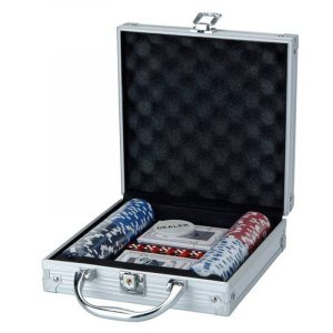 Deluxe Poker Set 100 Pokerkoffert