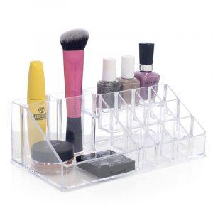 Organiser sminken. Smart sminke oppbevaring. Acryl