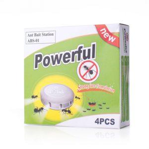 Maurboks for bekjempelse av maur innendørs. 4 maurbokser i esken.