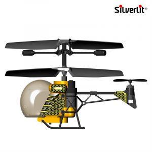 Fjernstyrt Helikopter bie fra Silverlit. Helikopterbie med gyroskop og fjernstyring.