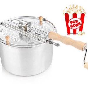 Popcorn popper for bål