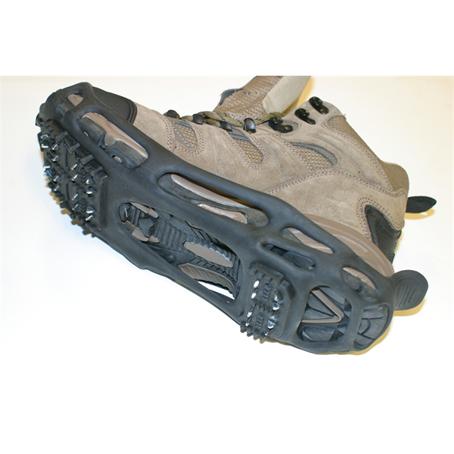 Isbrodder, Isbrodd med passform til de fleste sko. Pigger vinter snø is.