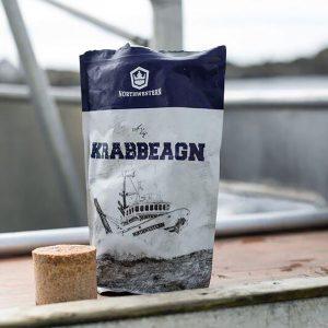 Captain Sig´s Krabbeagn. Krabbe agn. Produsert i Norge. Northwestern, kjent fra Discovery channel.