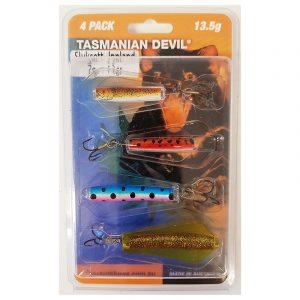 """Tasmanian Devil Sluksett Innland 13g. En fantastisk krok for fiske. Sluk som """"svømmer"""" på to dybder."""