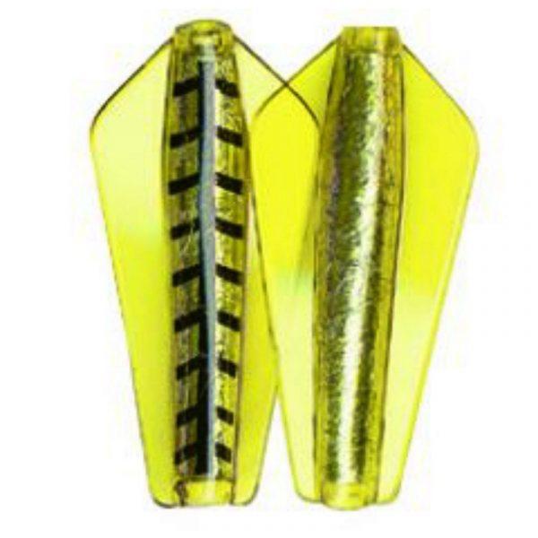 Tasmanian Devil fiskesluk. 36 Yellow wings. God på ørret, sjøørret og laks. Fisker på 2 dybder.