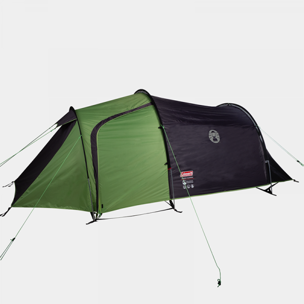 Telt Coleman Laremie 3 BlackOut. Telt med mørkt soverom inntil 3 personer. Tunnelltelt, fjelltelt. Festivaltelt, camping.