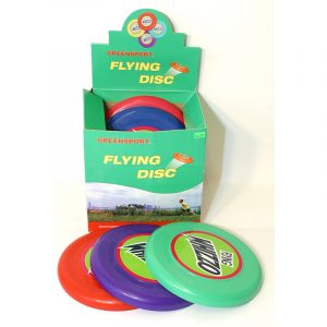 Frisbee, flying disc. Assorterte farger