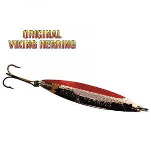 Fiskesluk original Viking Herring Kobber / rød