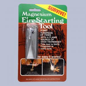 Tennstål magnesium Ildstål