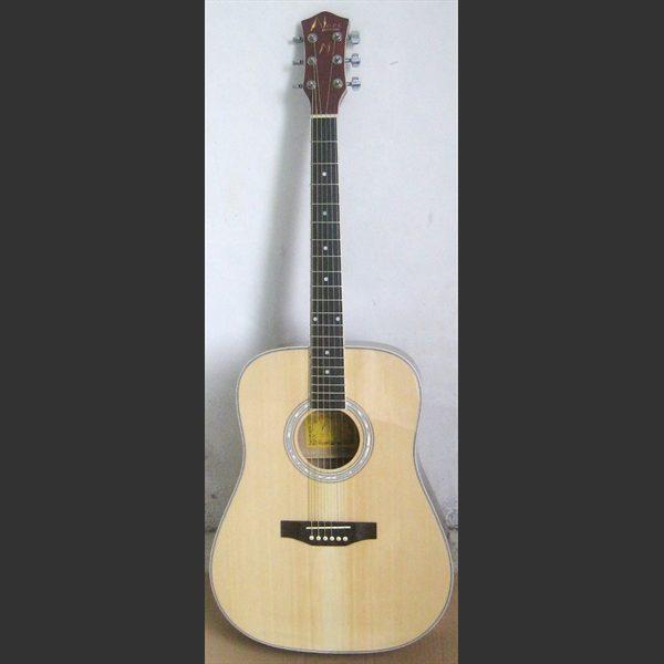 Akustisk gitar med stålstrenger