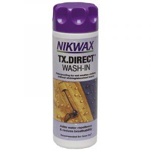 Nikwax TX Direct Wash 300 ml. Impregnering, miljøvennlig.