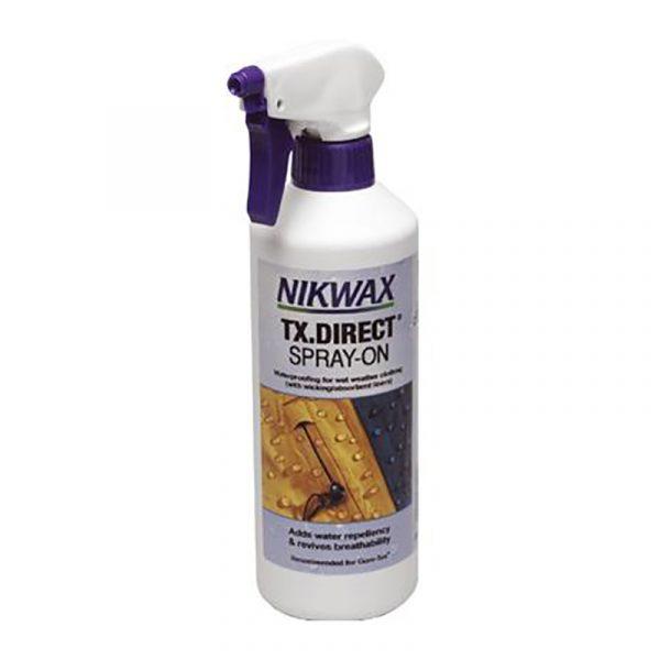 Nikwax TX Direct Spray On 300 ml. Impregnering, miljøvennlig.