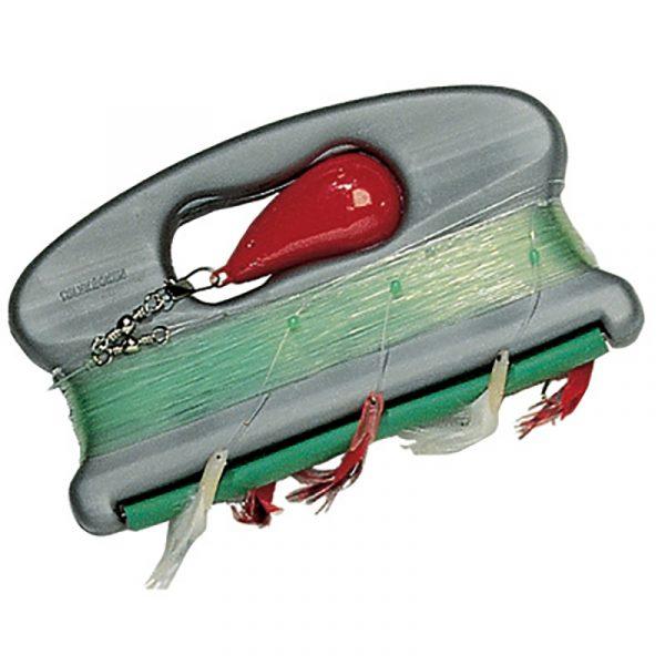 Harpe Sølvkroken Spesialharpa. Havfiske, snøre, søkke, fisk, fiske, dorging, pilking.