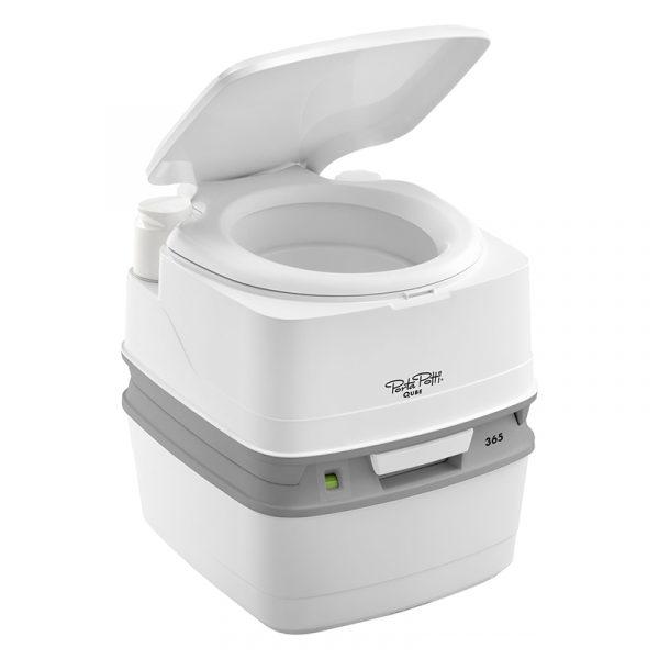 Mobilt toalett Porta Potti Qube 365. Do til hytta, båt eller camping. Campingdo, campingtoalett. Cube.