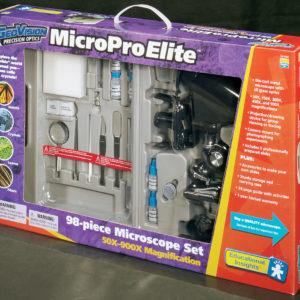 Mikroskop sett 98 deler. MicroPro elite. Forstørrer 50x - 900x