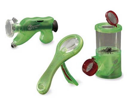 Discovery natur sett, Navir. Mega forstørrelsesglass, trippel insektglass med forstørrer, naturforskeren.