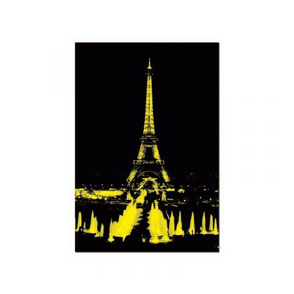 Puslespill Eifeltårnet, neon Puslespillet er i 1000 biter