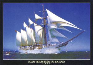 Seilskip, Juan Sebastian, puslespill
