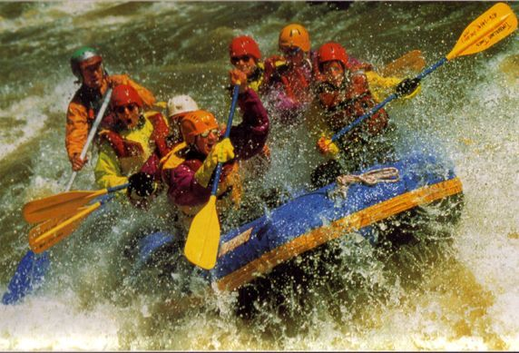 Puslespill Rafting fra Educa puzzle