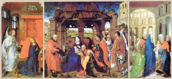 Puslespill Altertavlen i Santa Columba fra Educa puzzle