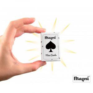 Mini spillekort fra Magni. Små spillkort.