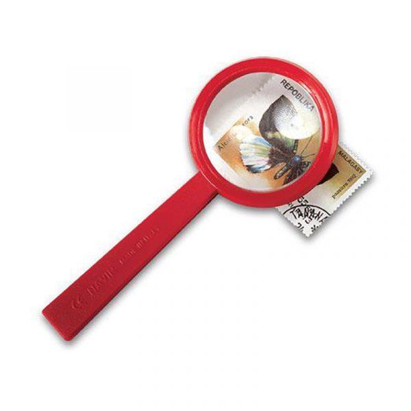 Forstørrelsesglass fra Navir. Magnifying lens, Forstørrelse glass til den lille forskeren. Lupe.