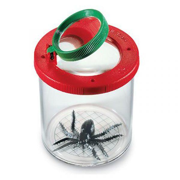 Insektglass fra Navis. Insektboks med lufting til å samle insekter i. Insekt glass.