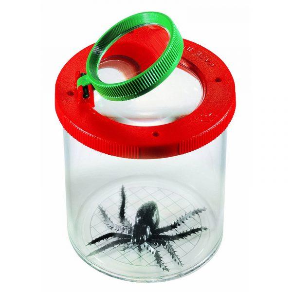 Insektglass fra Navir. Insektboks med lufting til å samle insekter i. Insekt glass for den lille naturforskeren. Insektsglass.