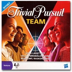 Trivial Pursuit Team. Et spørrespill for 2 lag.