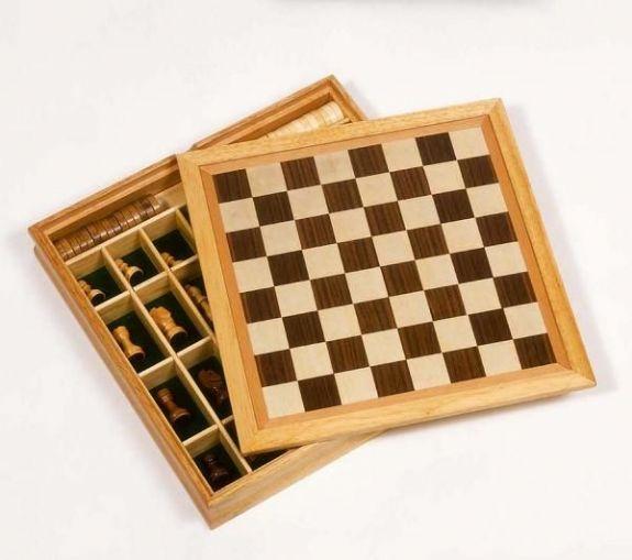 Sjakk, Dam og Mølle spill fra Goki