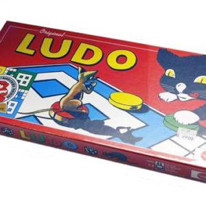 Ludo, brettspill fra Damm. Original Ludospill.