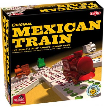 Mexican train domino spill. Tactic.