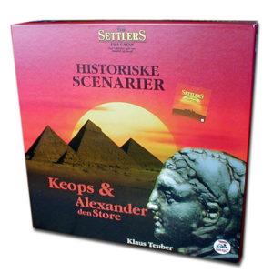 Settlers Historiske scenarier