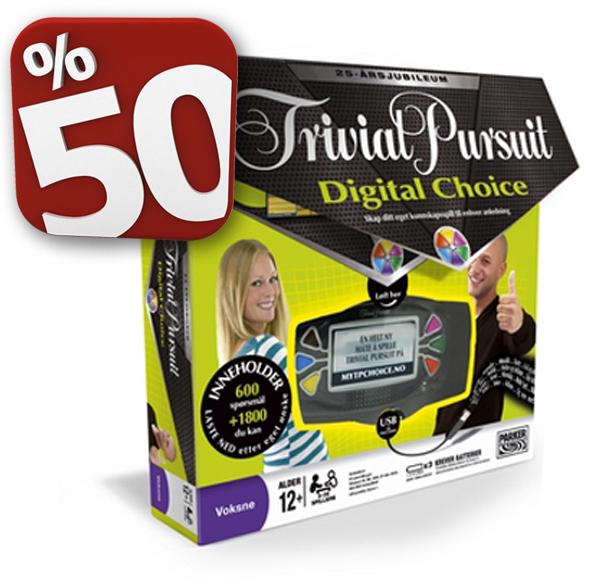 Trivial Pursuit Digital Choice