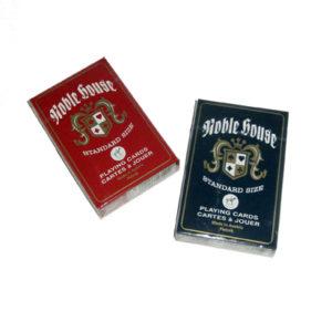 Spillekort, Noble House. Standard kortstokk i god kvalitet.