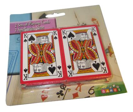 Spillekort, sett med 2